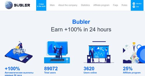 bubler home page