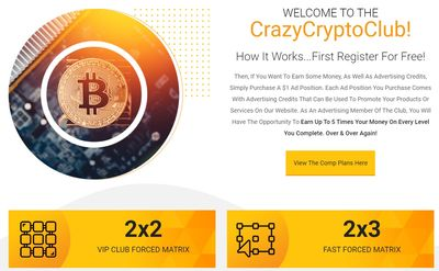 crazy crypto club home page