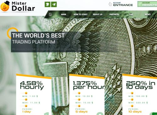 mister dollar home page